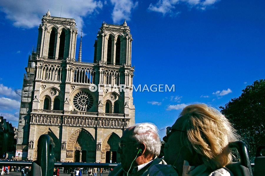 Catedral de Notre Dame, Paris. França. 2005. Foto de Rogério Reis.