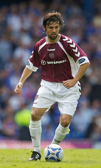 Paul Hartley, Hearts.stock season 2006-2007.pic willie vass
