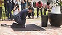 Japan's former Prime Minister Hatoyama visits Seodaemun Prison History Hall in Seoul