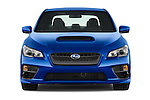 Car photography straight front view of a 2017 Subaru WRX 2 4 Door Sedan Front View