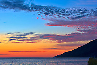 Sunrise over the Gulf of St. Lawrence<br />La Martre<br />Quebec<br />Canada