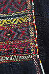 VINTAGE KACHIN BREAST CLOTH FROM MYANMAR, WITH WEAVING THAT IS SO DENSE THAT THE FABRIC IS WATERPROOF