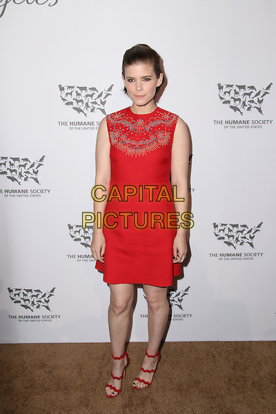 HOLLYWOOD, CA - MAY 07: Kate Mara attends The Humane Society of the United States' to the Rescue Gala at Paramount Studios on May 7, 2016 in Hollywood, California.  <br /> CAP/MPI/PA<br /> &copy;PA/MPI/Capital Pictures