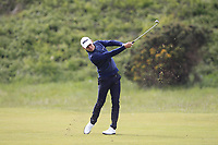 Joakim Lagergren (SWE) on the 8th fairway during Round 2 of the Betfred British Masters 2019 at Hillside Golf Club, Southport, Lancashire, England. 10/05/19<br /> <br /> Picture: Thos Caffrey / Golffile<br /> <br /> All photos usage must carry mandatory copyright credit (&copy; Golffile | Thos Caffrey)