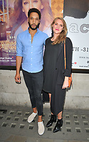 "Royce Pierreson and Natalie Herron at the ""Dark Sublime"" gala performance, Trafalgar Studios, Whitehall, London, England, UK, on Monday 01st July 2019.<br /> CAP/CAN<br /> ©CAN/Capital Pictures"