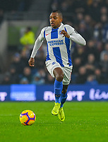 Brighton & Hove Albion's Jose Izquierdo <br /> <br /> Photographer David Horton/CameraSport<br /> <br /> The Premier League - Brighton and Hove Albion v Leicester City - Saturday 24th November 2018 - The Amex Stadium - Brighton<br /> <br /> World Copyright © 2018 CameraSport. All rights reserved. 43 Linden Ave. Countesthorpe. Leicester. England. LE8 5PG - Tel: +44 (0) 116 277 4147 - admin@camerasport.com - www.camerasport.com