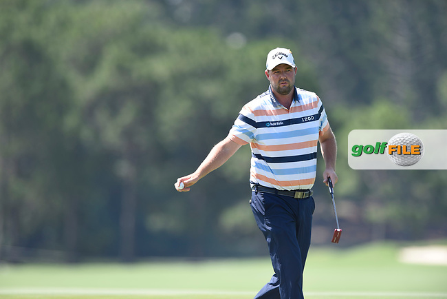Marc Leishman (AUS) during the 3rd round of the Australian PGA Championship, Royal Pines Resort Golf Course, Benowa, Queensland, Australia. 01/12/2018<br /> Picture: Golffile | Anthony Powter<br /> <br /> <br /> All photo usage must carry mandatory copyright credit (© Golffile | Anthony Powter)