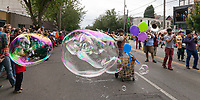 Fremont Solstice Parade & Festival, Seattle, Washington, USA.