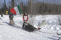 Allen Moore Anchorage Start Iditarod 2008.