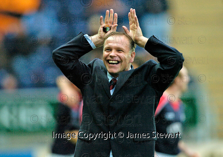 28/10/2006       Copyright Pic: James Stewart.File Name :sct_jspa11_falkirk_v_dundee_utd.JOHN HUGHES CELEBRATES....James Stewart Photo Agency 19 Carronlea Drive, Falkirk. FK2 8DN      Vat Reg No. 607 6932 25.Office     : +44 (0)1324 570906     .Mobile   : +44 (0)7721 416997.Fax         : +44 (0)1324 570906.E-mail  :  jim@jspa.co.uk.If you require further information then contact Jim Stewart on any of the numbers above.........