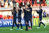 June 19th 2017, Kielce, Poland; UEFA European U-21 football championships, England versus Slovakia; James Ward-Prowse (ENG) celebrate their come-freom-behind win