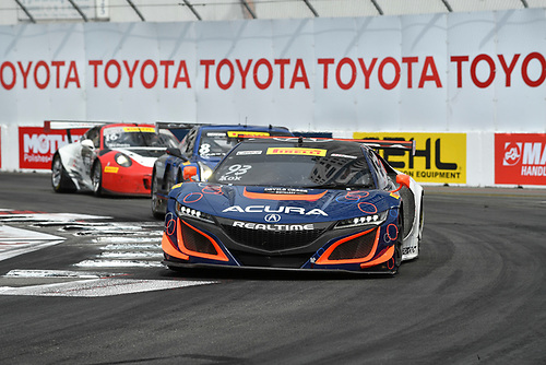 2017 Pirelli World Challenge<br /> Toyota Grand Prix of Long Beach<br /> Streets of Long Beach, CA USA<br /> Sunday 9 April 2017<br /> Peter Kox<br /> World Copyright: Richard Dole/LAT Images<br /> ref: Digital Image RD_LB17_539