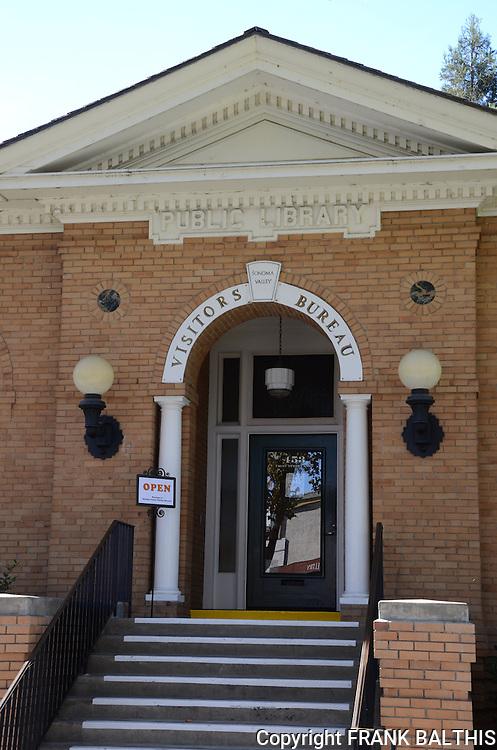 Visitors Bureau in Sonoma