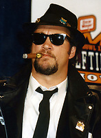 Blues Brothers6032.JPG<br /> <br /> 1997 <br /> John Goodman, James Belushi,<br /> Dan Aykroyd, James Brown 1997<br /> Photo to By John Barrett-PHOTOlink.net/MediaPunch