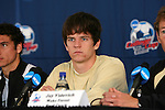 13 December 2007: Wake Forest's Sam Cronin. The Wake Forest University Demon Deacons held a press conference at SAS Stadium in Cary, North Carolina one day before playing in a NCAA Division I Mens College Cup semifinal game.