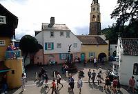 Großbritannien, Wales, Portmeirion, im italienischen Dorf