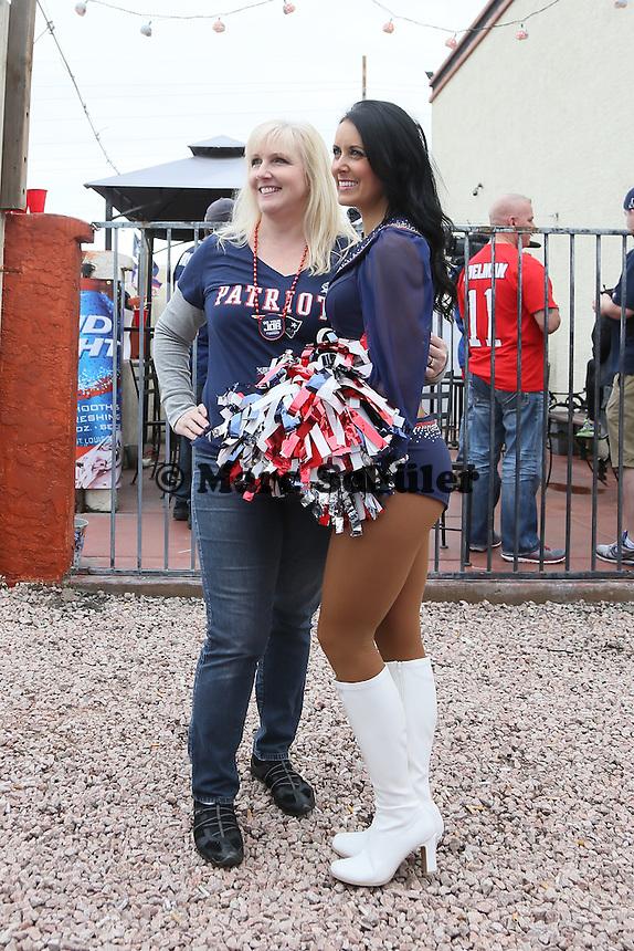 New England Patriots Cheerleader - New England Patriots Fanclub Arizona Fan Rally in Phoenix