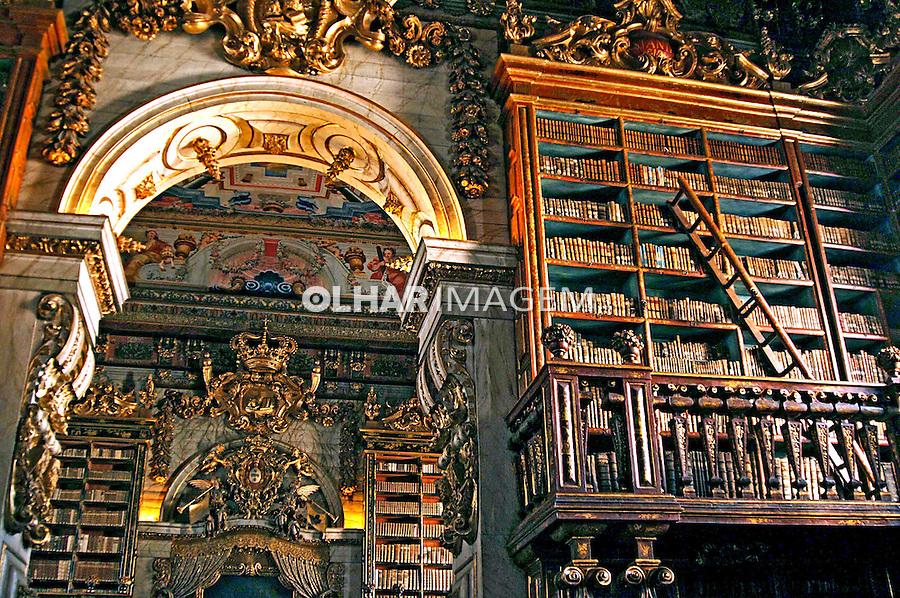 Biblioteca da Universidade de Coimbra. Portugal. 2005. Foto de Rogério Reis.