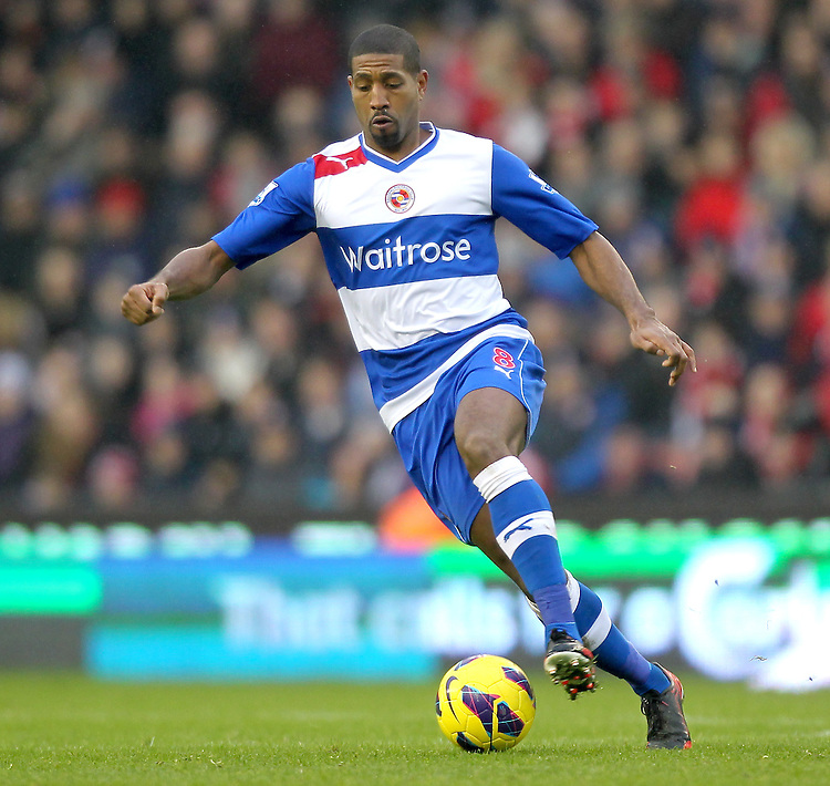 Reading's Mikele Leigertwood ..Football - Barclays Premiership - Stoke City v Reading - Saturday 9th February 2013 - Britannia Stadium - Stoke..