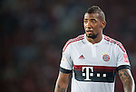 Jerome Boateng of Bayern Munich looks on during the Bayern Munich vs Guangzhou Evergrande as part of the Bayern Munich Asian Tour 2015  at the Tianhe Sport Centre on 23 July 2015 in Guangzhou, China. Photo by Aitor Alcalde / Power Sport Images