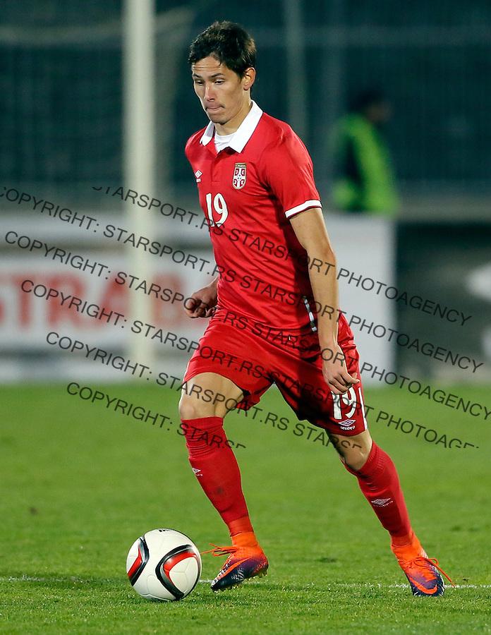 Sasa Lukic Reprezentacija, U21 Srbija - Norveska , baraz 11.11.2016. Beograd Srbija kvalifikacije  Serbia - Norway (credit image & photo: Pedja Milosavljevic / STARSPORT)