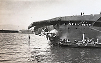 Never-before-seen of little known peacetime disaster involving HMS Glorious