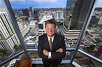August 7, 2017. San Diego, CA. USA.| Thomas Wornham, CEO of San Diego Private Bank. |Photos by Jamie Scott Lytle. Copyright.
