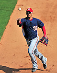 5 March 2010: Washington Nationals' infielder Alberto Gonzalez in action during a Spring Training game against the Atlanta Braves at Champion Stadium in the ESPN Wide World of Sports Complex in Orlando, Florida. The Braves defeated the Nationals 11-8 in Grapefruit League action. Mandatory Credit: Ed Wolfstein Photo