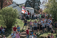 fans on the infamous Mur de Huy<br /> <br /> 82nd La Flèche Wallonne 2018<br /> 1 Day Race: Seraing - Huy (198,5km)