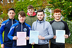 St Brendans College students l-r: Cian Sheahan, Diarmuid Mullane, Mark O'Shea, Stephen O'Leary and Niall Donoghue who were happy enough with the Leaving Cert  English paper on Wednesday