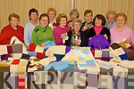 PLAIN & PURL: Members of the Clounmacon ICA with some of the colourful items they knitted for the Chernobyl Knitwear Project, which was on display at Clounmacon Community Centre on Friday night,   Copyright Kerry's Eye 2008
