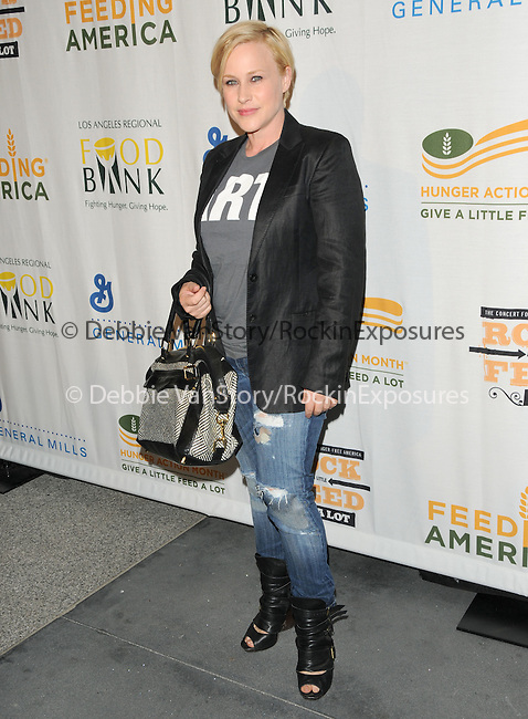 Patricia Arquette at The Rock a Little ,Feed a lot benefit concert to support the L.A. Regional Food Bank & Feeding America held at Club Nokia in Los Angeles, California on September 29,2009                                                                   Copyright 2009 DVS / RockinExposures