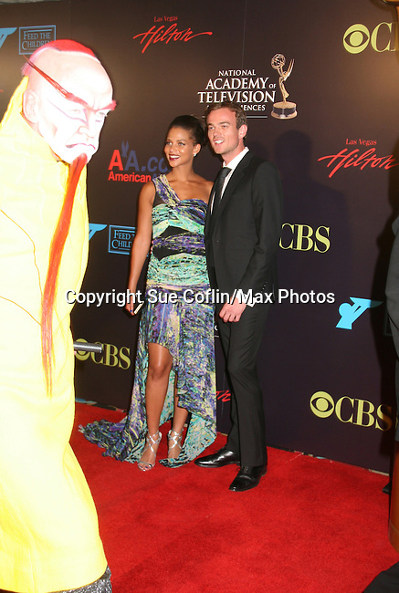 Denise Vasi - Red Carpet - 37th Annual Daytime Emmy Awards on June 27, 2010 at Las Vegas Hilton, Las Vegas, Nevada, USA. (Photo by Sue Coflin/Max Photos)