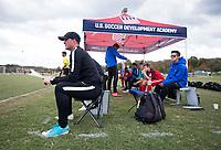 Advance, NC - October 28, 2017: The U.S. Soccer Development Academy 2017 U-13/U-14 East Regional Showcase at BB&T Soccer Park.