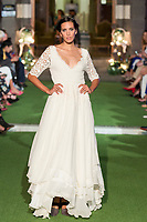 Model Aranzazu Estevez poses. <br /> Aurelia Gil Show During the Gran Canaria Bridal Fashion Week at Nestor Museum in Gran Canaria, Canary Island on October 8, 2017.