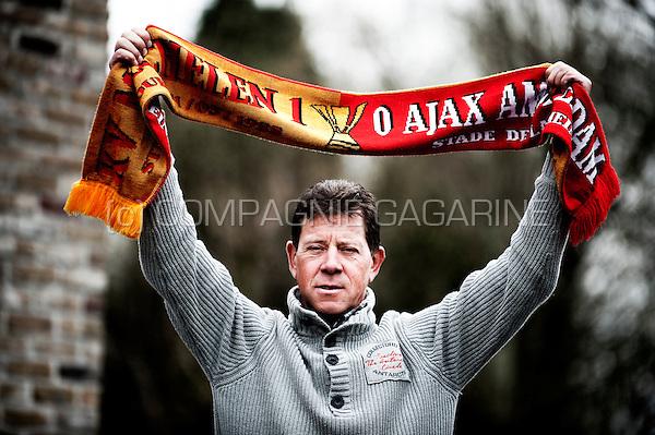 Former Belgian footballer Koen Sanders (Belgium, 16/04/2013)