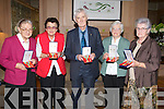 MEDALS: Relations of veterns of the Korean war who lost their lives and relations were presented with their medals at a special meeting on Sunday at Ballygarry House Hotel & Spa, Tralee. Pictured l-r: Bridie Ann O'Connor (Annascaul), Ann Hurley (Abbeydorney), Patrick Herlihy (Scartaglin) Bridie Cox (Ballylongford) and Bridie Foley-Quinn (Killorglin).