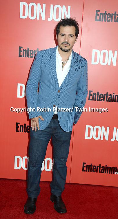 "John Leguizamo attends the ""Don Jon"" New York Movie Premiere on September 12, 2013 at the SVA Theatre in New York City."