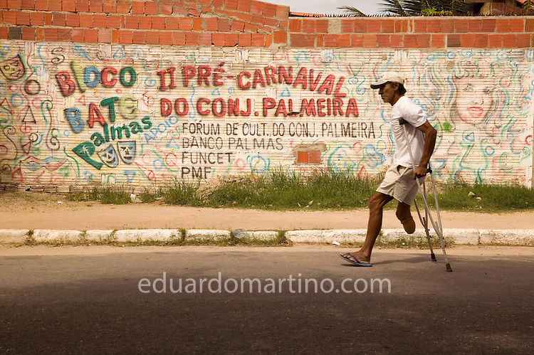 Conjunto Palmeiras, Fortaleza, Ceara, Brazil.Photo: Eduardo Martino / Documentography