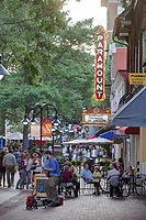 The walking mall or the Downtown Mall located in Charlottesville, Virginia. Photo/Andrew Shurtleff Photography, LLC
