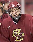 Pat Gannon - Boston College's morning skate on Friday, December 30, 2005 at Magness Arena in Denver, Colorado.  Boston College defeated Ferris State that afternoon in a shootout and defeated Princeton the following night to win the Denver Cup.