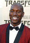 "WESTWOOD, CA. - June 22: Tyrese Gibson arrives at the 2009 Los Angeles Film Festival - The Los Angeles Premiere of ""Transformers: Revenge of the Fallen"" at Mann's Village Theater on June 22, 2009 in Los Angeles, California."