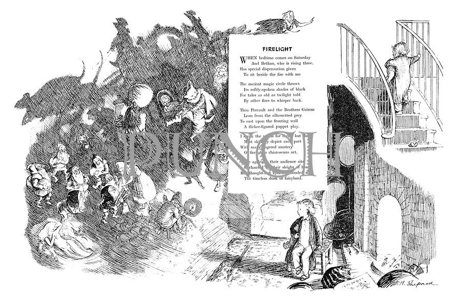 Firelight (illustrated poem).