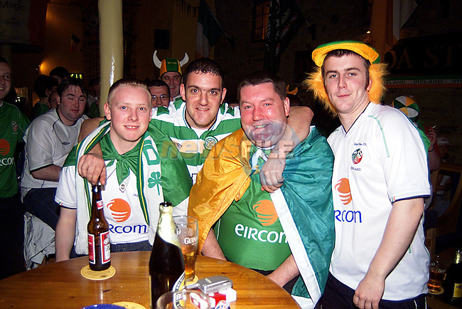Shane Tuohy,Anthony Dunne,Martin Hanratty,and Trever McDonnell in The Marinter for the Match...PicTony Campbell  Newsfile