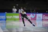 SCHAATSEN: HEERENVEEN: IJsstadion Thialf, 16-11-2012, Essent ISU World Cup, Season 2012-2013, Ladies 1st 500 meter Division B, Anastasia Bucsis (CAN), ©foto Martin de Jong