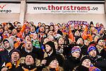 Stockholm 2016-02-12 Bandy Elitserien Hammarby IF - Bolln&auml;s GIF :  Bolln&auml;s supporter under bandymatchen i Elitserien mellan Hammarby och Bolln&auml;s den 12 Februari 2016 i Stockholm. <br /> (Foto: Kenta J&ouml;nsson) Nyckelord:  Elitserien Bandy Hammarby Bolln&auml;s