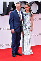 Matt Damon, Alicia Vikander at Jason Bourne UK film premiere,the fifth instalment in the Bourne franchise, at Odeon Leicester Square, London, England 11 July 2016.<br /> CAP/JOR<br /> &copy;JOR/Capital Pictures /MediaPunch ***NORTH AND SOUTH AMERICAS ONLY***
