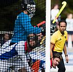 AMSTELVEEN - scheidsrechter Jacir Soares de Brito  .Hoofdklasse competitie heren. Pinoke-SCHC (0-1) . COPYRIGHT  KOEN SUYK