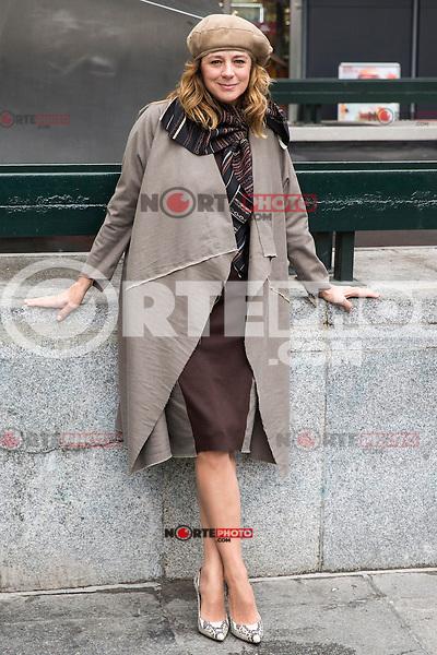 "Spainsh actress Emma suarez during the premier of the film ""La proxima piel"" at Renoir Princesa Cinema in Madrid, Spain. October 18, 2016. (ALTERPHOTOS/Rodrigo Jimenez)"