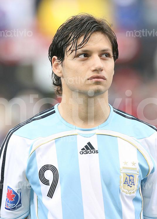 Fussball International U 20 WM  Mauro ZARATE (ARG)